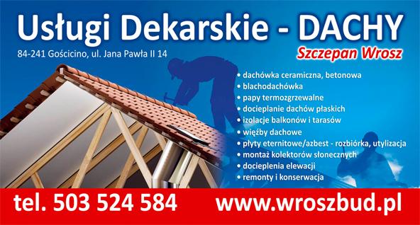 montaż dachów